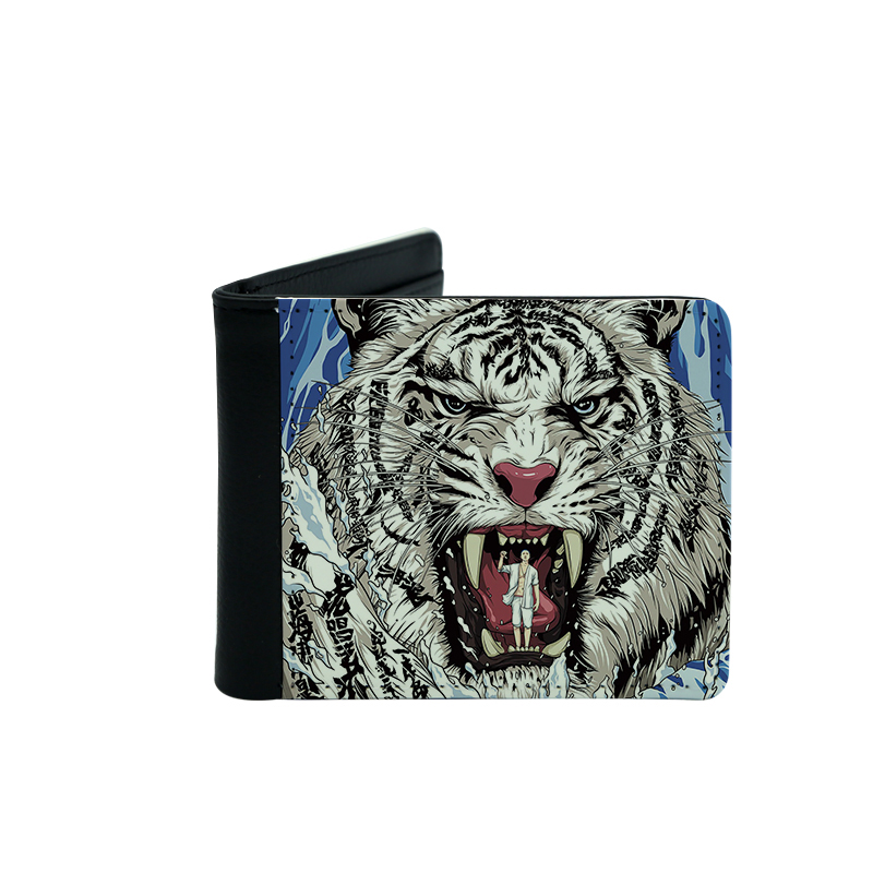 Sublimation Leather Men's Wallets With Card Holder
