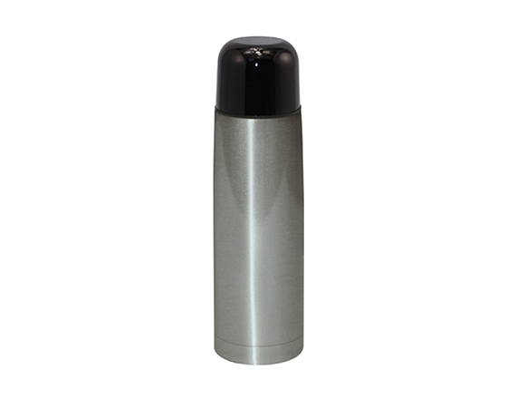 350/500ml Sublimation Stainless Steel Vacuum Blottle With Black Lid
