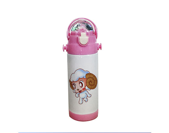 350ml Sublimation Stainless Steel Vacuum Kids Thermos Bottle