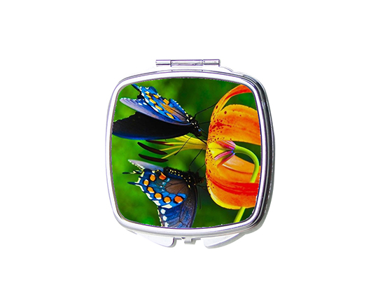 Sublimation Metal Square Shape Mirror with Round Corner
