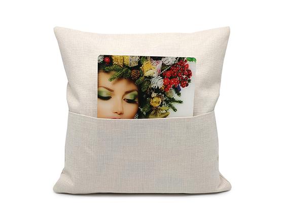 Sublimation 265gsm Linen Pocket Book Pillow Case