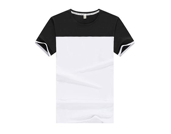 185g Sublimation Modal Color Shoulder Tshirt