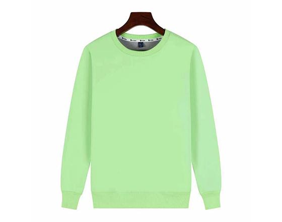 Sublimation Custom 500g Super Velvet Round Collar Guard Suit(Green)