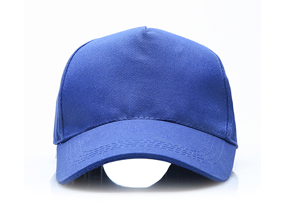DIY Personalized Printable Cap Sublimation Cotton Hat with Iron Buckle(Blue)