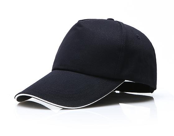 DIY Personalized Printable 100% Cotton Cap Sublimation Hat (Navy Blue)