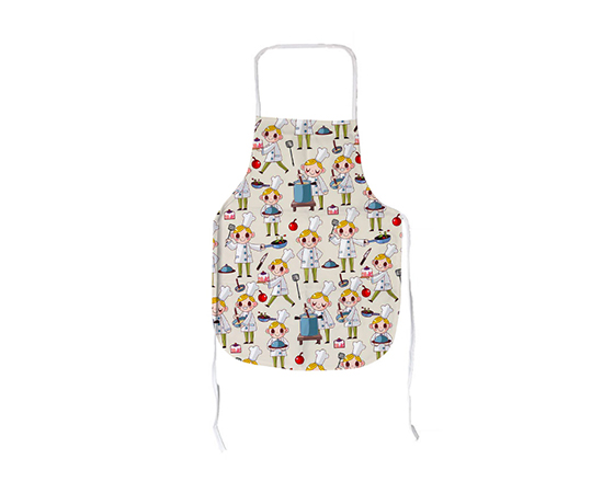 Custom Sublimation Eco-friendly Plain Color Bib Adult Canvas Adult Apron