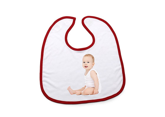 Custom Design Pattern Free Printable Sublimation Friendly Baby Blank Bibs