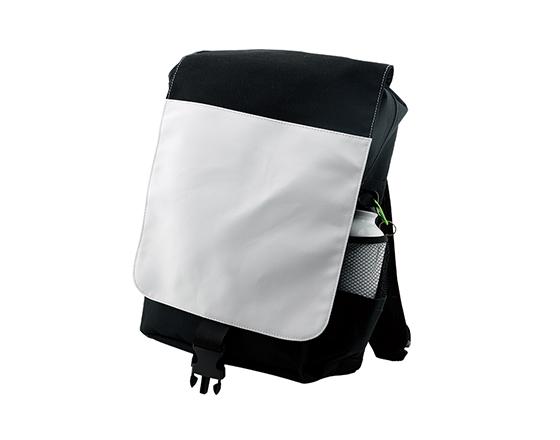 Custom Sublimation Black Adult Shoulder Sports Backpack