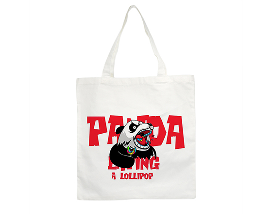 Sublimation Customized Printable Blank  Canvas Shoping Bag