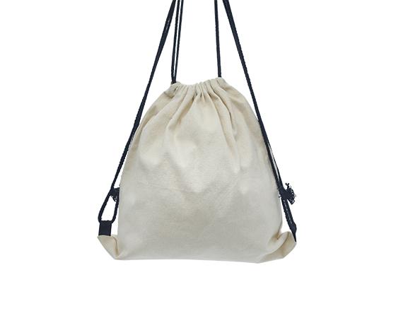 Sublimation Printable Blank Canvas Drawstring Bag